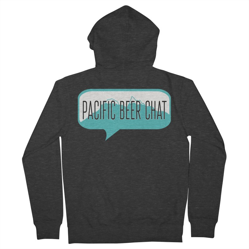 Pacific Beer Chat Logo Women's French Terry Zip-Up Hoody by Pacific Beer Chat Shop