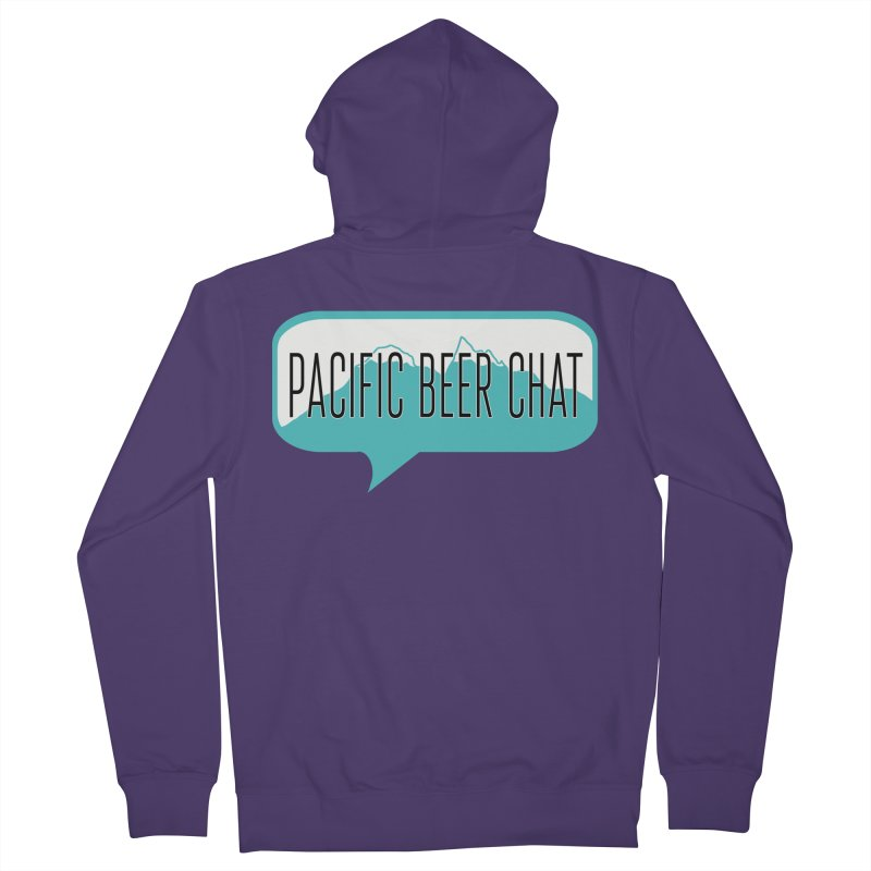 Pacific Beer Chat Logo Women's Zip-Up Hoody by Pacific Beer Chat Shop