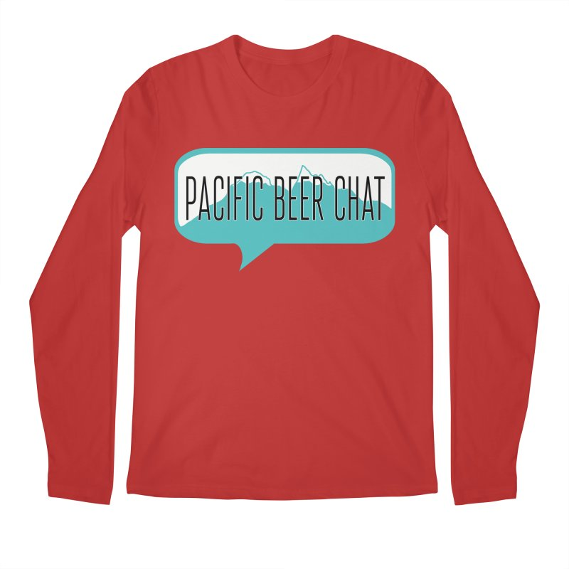 Pacific Beer Chat Logo Men's Regular Longsleeve T-Shirt by Pacific Beer Chat Shop