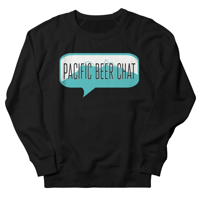 Pacific Beer Chat Logo Men's French Terry Sweatshirt by Pacific Beer Chat Shop