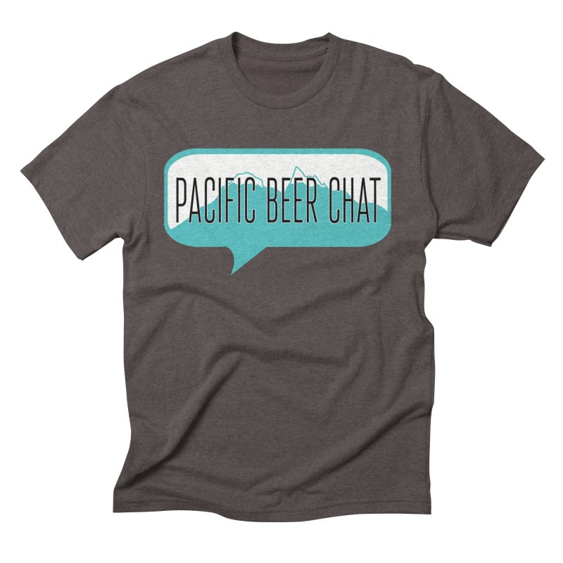 Pacific Beer Chat Logo Men's T-Shirt by Pacific Beer Chat Shop