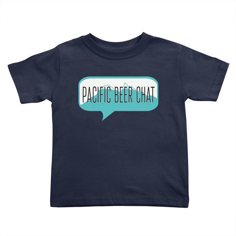 Pacific Beer Chat Logo Kids Toddler T-Shirt by Pacific Beer Chat Shop