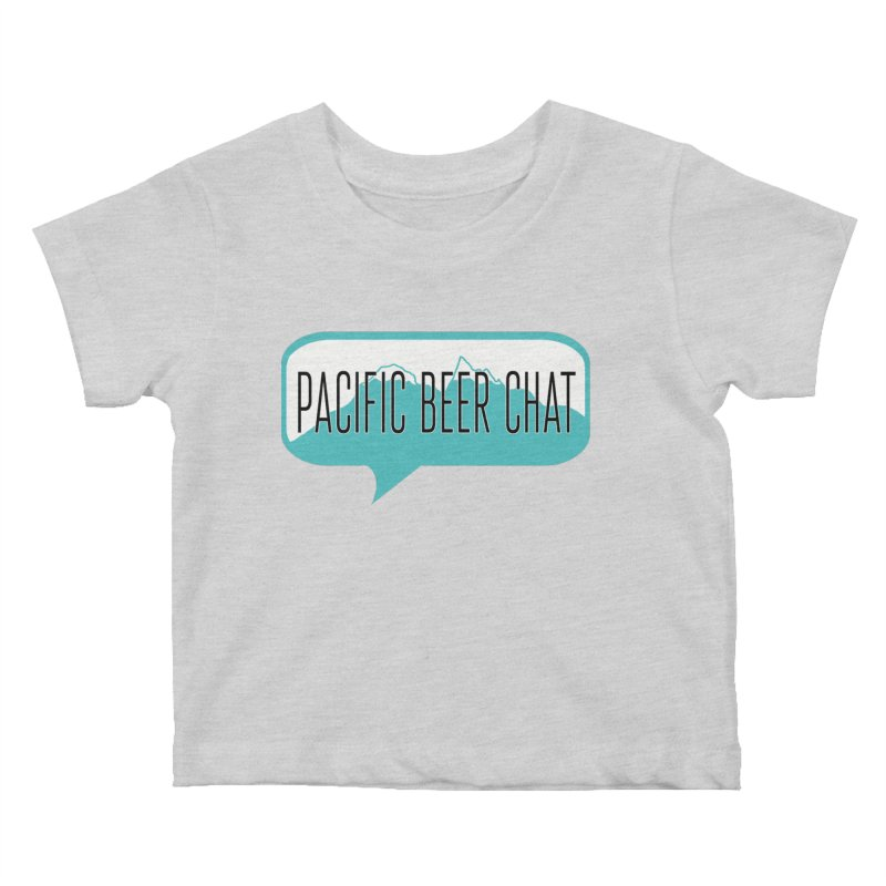 Pacific Beer Chat Logo Kids Baby T-Shirt by Pacific Beer Chat Shop