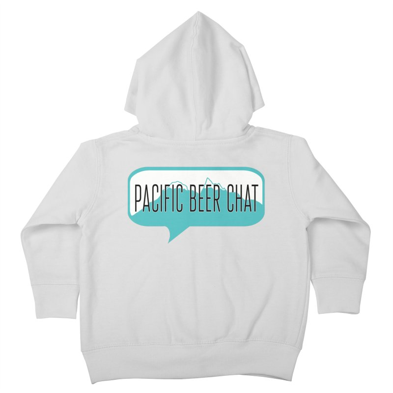 Pacific Beer Chat Logo Kids Toddler Zip-Up Hoody by Pacific Beer Chat Shop