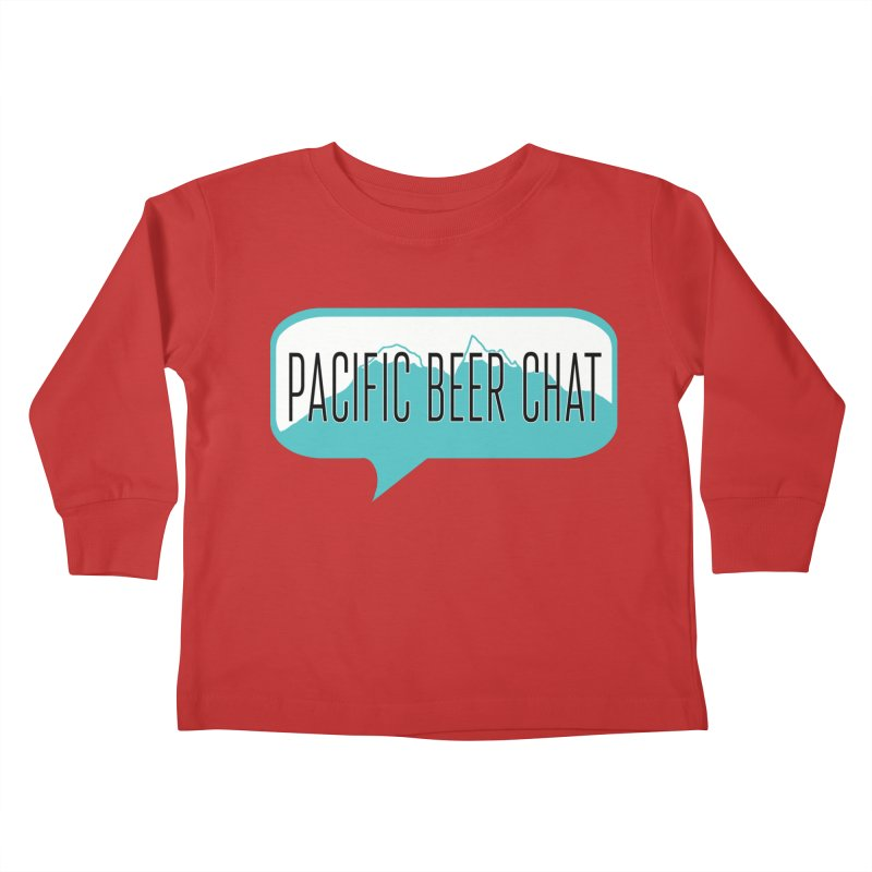 Pacific Beer Chat Logo Kids Toddler Longsleeve T-Shirt by Pacific Beer Chat Shop