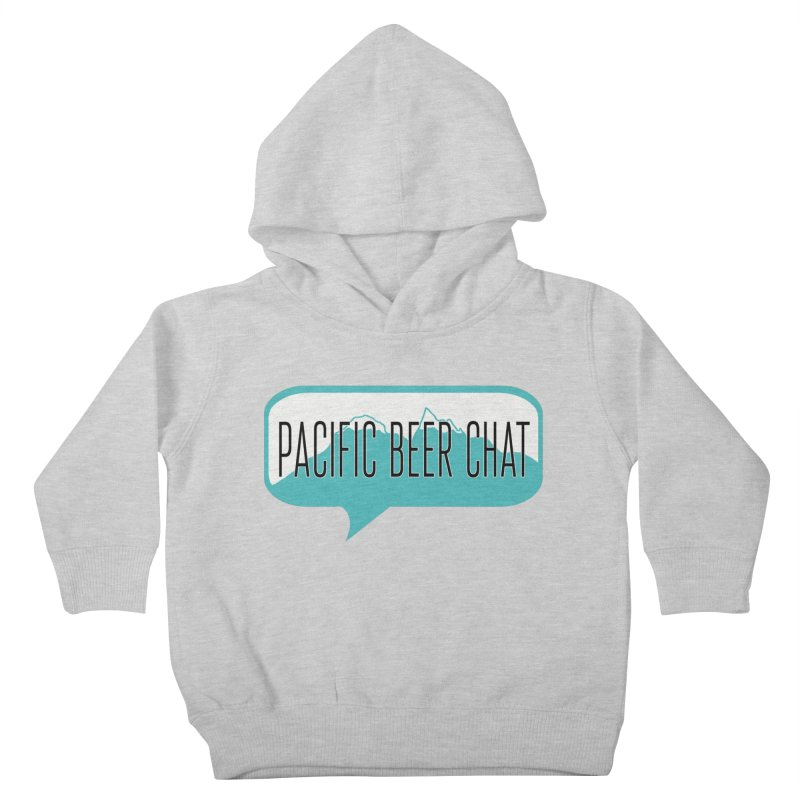 Pacific Beer Chat Logo Kids Toddler Pullover Hoody by Pacific Beer Chat Shop