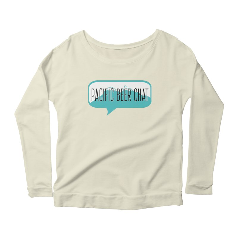 Pacific Beer Chat Logo Women's Longsleeve Scoopneck  by Pacific Beer Chat Shop