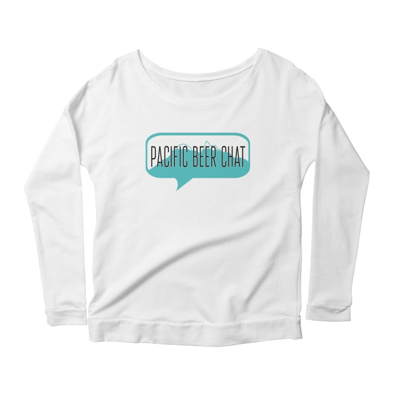 Pacific Beer Chat Logo Women's Scoop Neck Longsleeve T-Shirt by Pacific Beer Chat Shop