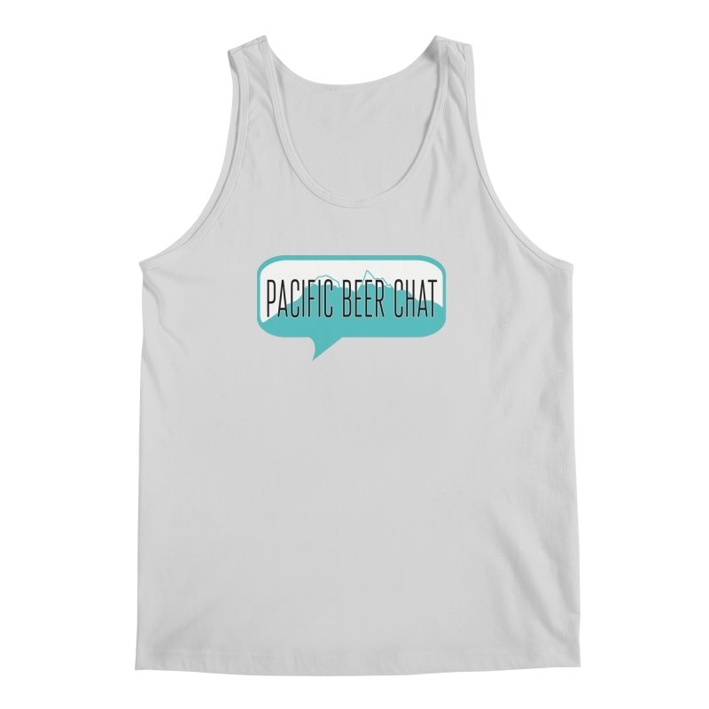 Pacific Beer Chat Logo Men's Regular Tank by Pacific Beer Chat Shop