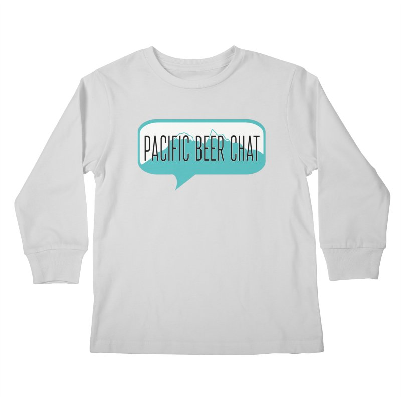 Pacific Beer Chat Logo Kids Longsleeve T-Shirt by Pacific Beer Chat Shop