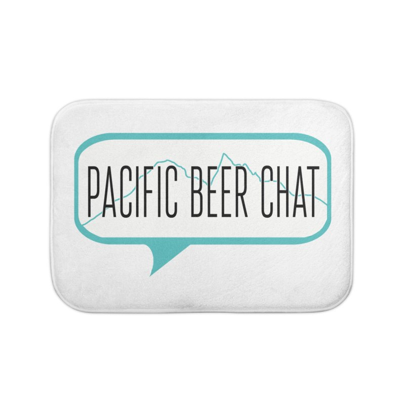 Alternative Logo Home Bath Mat by Pacific Beer Chat Shop