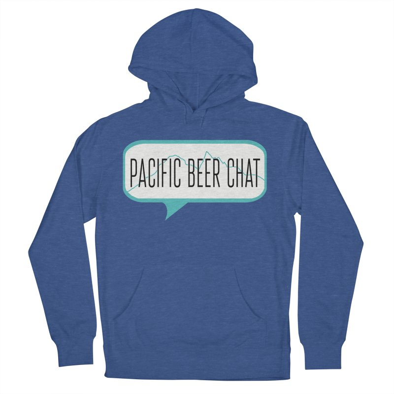 Alternative Logo Men's French Terry Pullover Hoody by Pacific Beer Chat Shop
