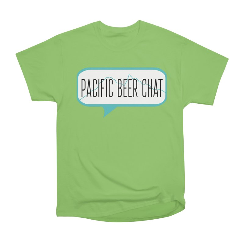 Alternative Logo Women's Heavyweight Unisex T-Shirt by Pacific Beer Chat Shop