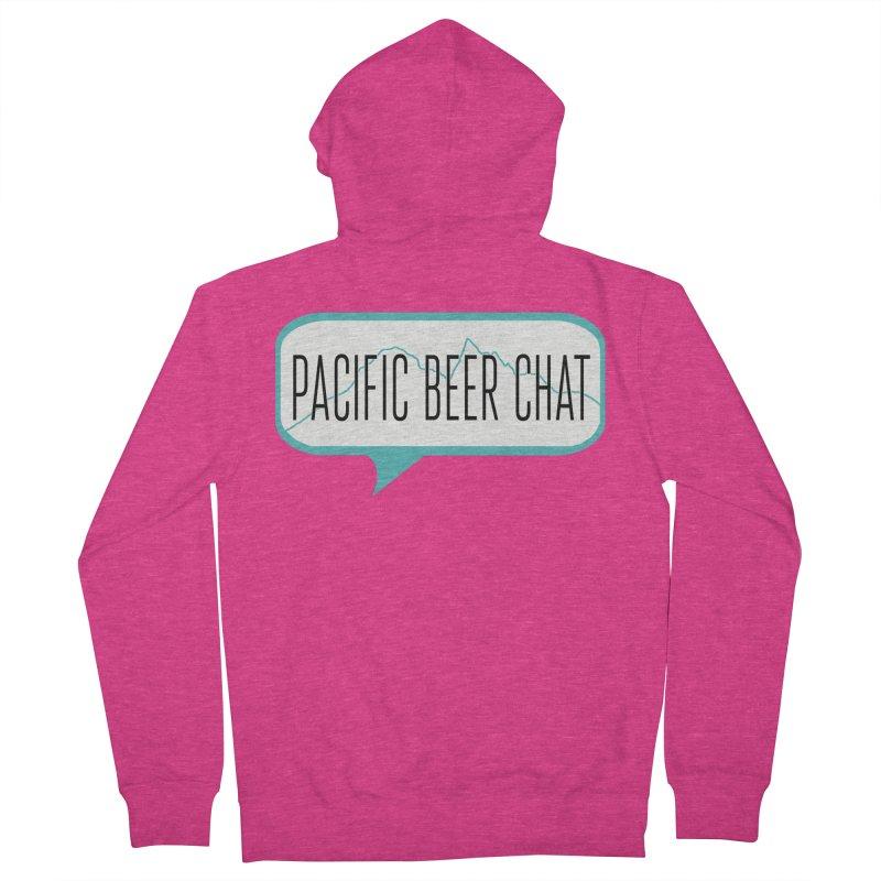 Alternative Logo Women's Zip-Up Hoody by Pacific Beer Chat Shop