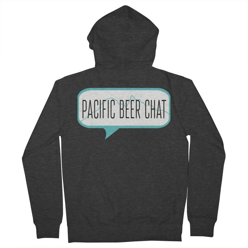 Alternative Logo Men's Zip-Up Hoody by Pacific Beer Chat Shop