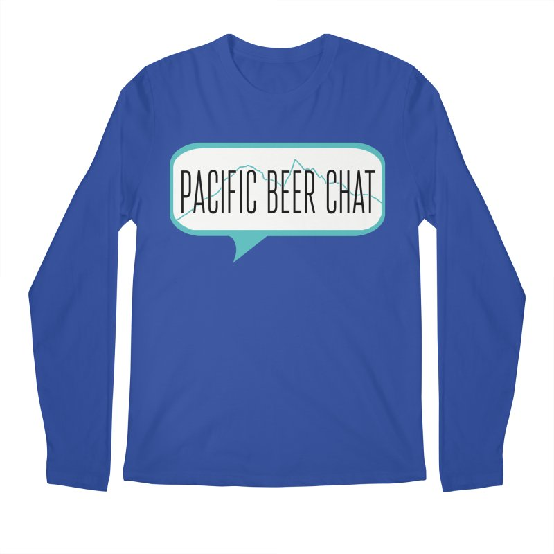 Alternative Logo Men's Longsleeve T-Shirt by Pacific Beer Chat Shop