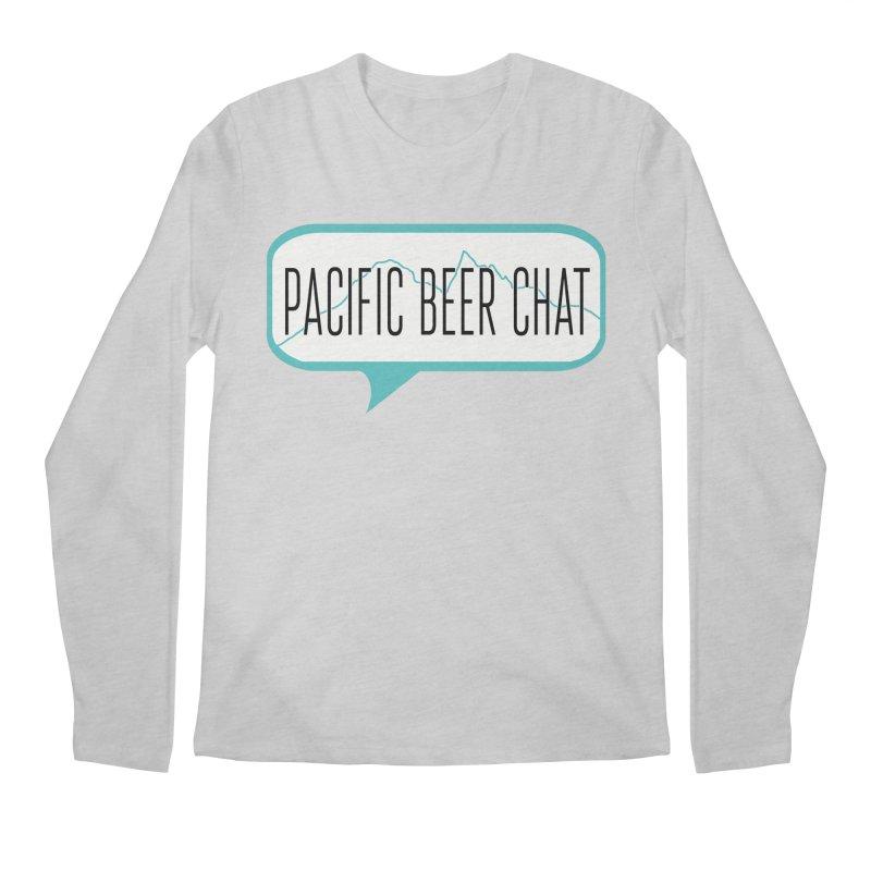 Alternative Logo Men's Regular Longsleeve T-Shirt by Pacific Beer Chat Shop