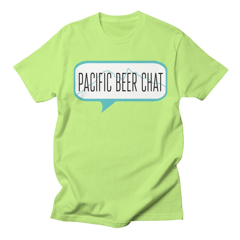 Alternative Logo Women's Regular Unisex T-Shirt by Pacific Beer Chat Shop