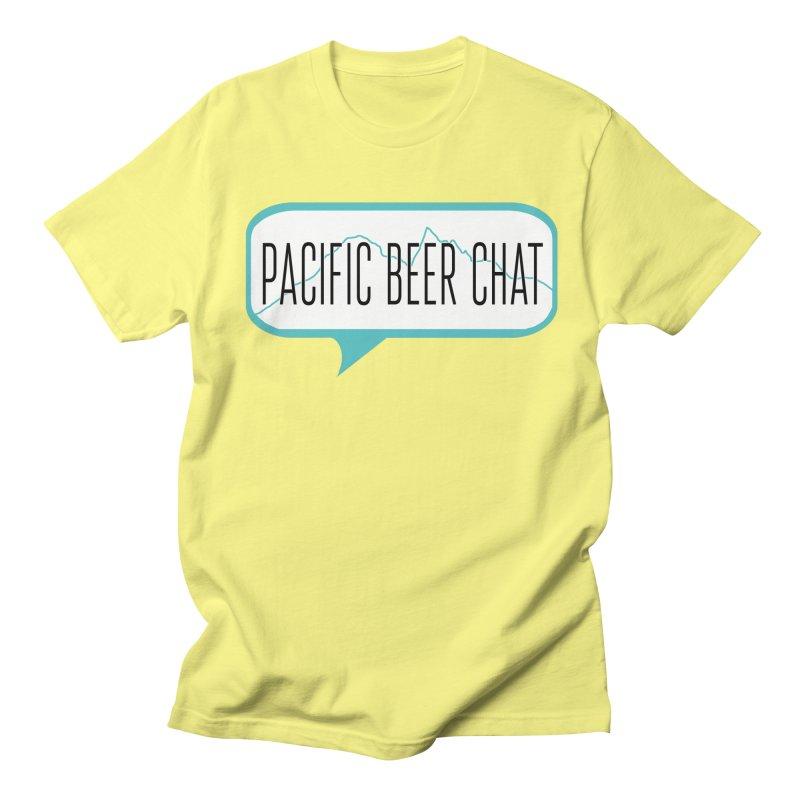 Alternative Logo Women's Regular Unisex T-Shirt by Pacific Beer Chat Shop