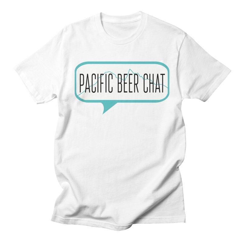 Alternative Logo Men's Regular T-Shirt by Pacific Beer Chat Shop