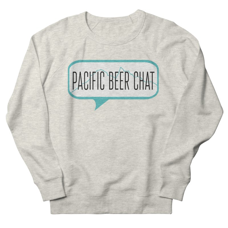Alternative Logo Men's French Terry Sweatshirt by Pacific Beer Chat Shop
