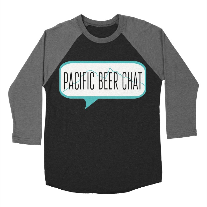 Alternative Logo Men's Baseball Triblend Longsleeve T-Shirt by Pacific Beer Chat Shop
