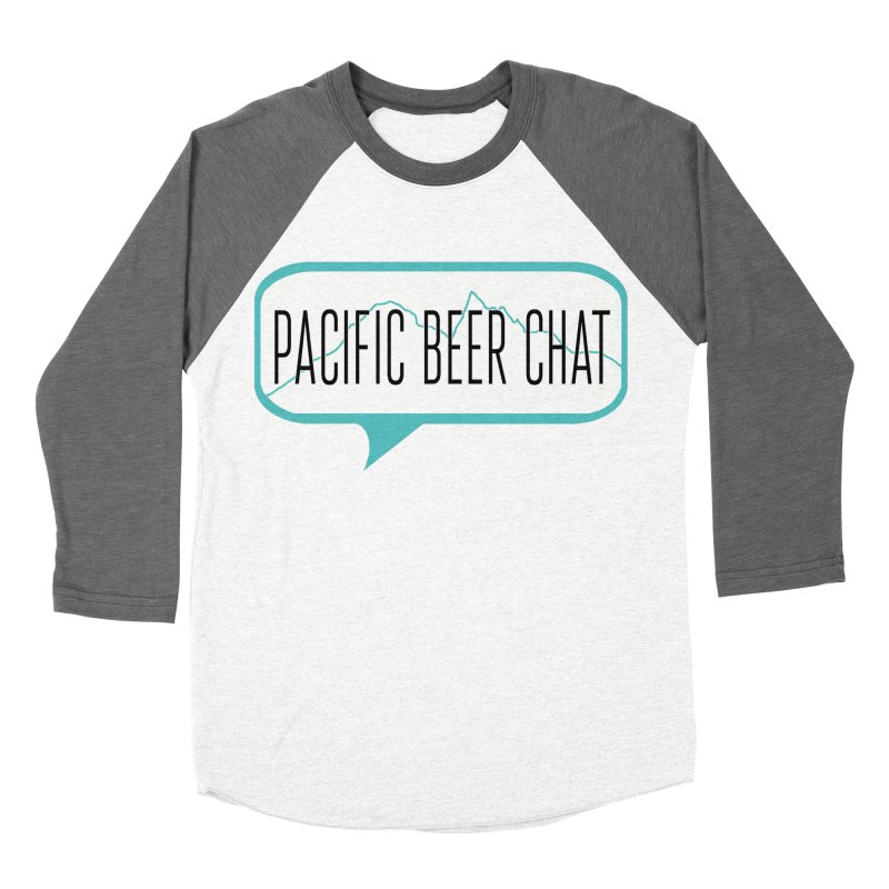 Alternative Logo Men's Baseball Triblend Longsleeve T-Shirt by Pacific Beer Chat Shop