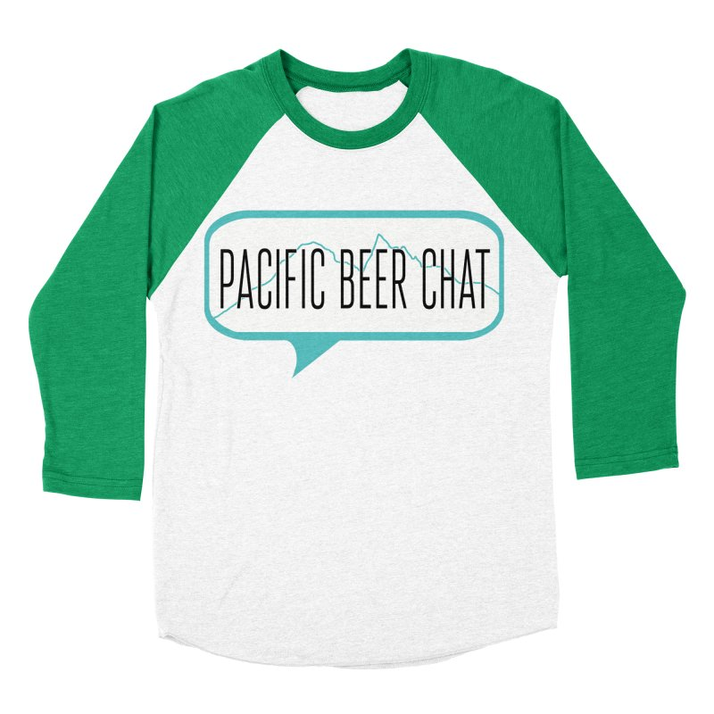 Alternative Logo Men's Baseball Triblend T-Shirt by Pacific Beer Chat Shop