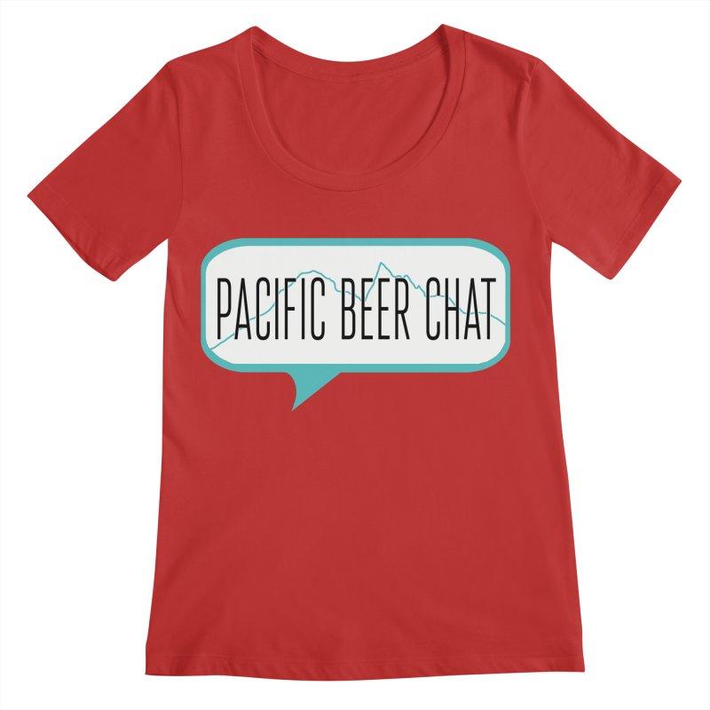 Alternative Logo Women's Regular Scoop Neck by Pacific Beer Chat Shop