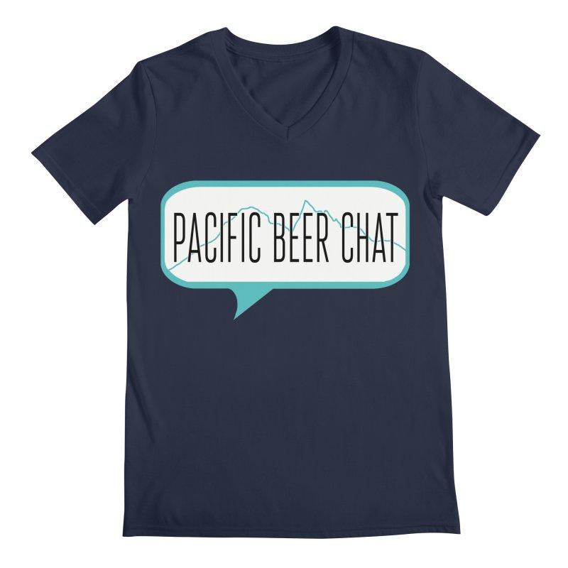 Alternative Logo Men's Regular V-Neck by Pacific Beer Chat Shop