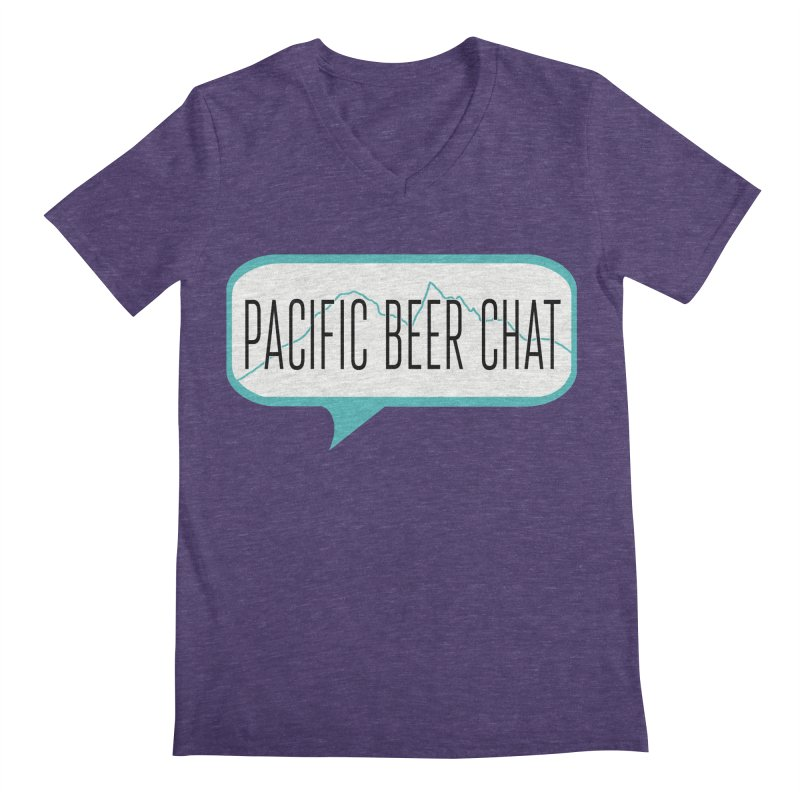 Alternative Logo Men's V-Neck by Pacific Beer Chat Shop
