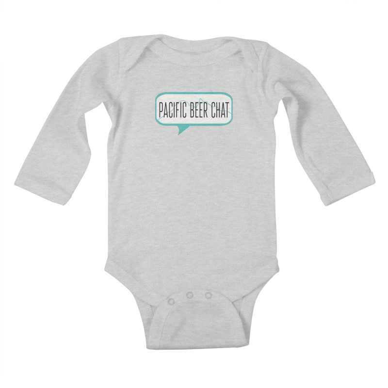 Alternative Logo Kids Baby Longsleeve Bodysuit by Pacific Beer Chat Shop