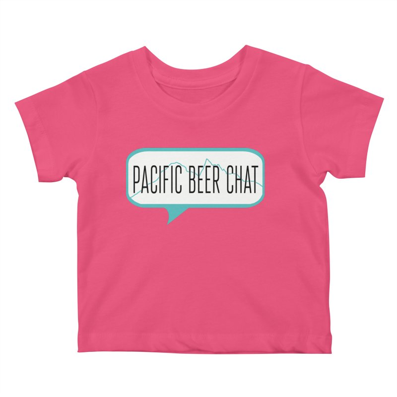 Alternative Logo Kids Baby T-Shirt by Pacific Beer Chat Shop