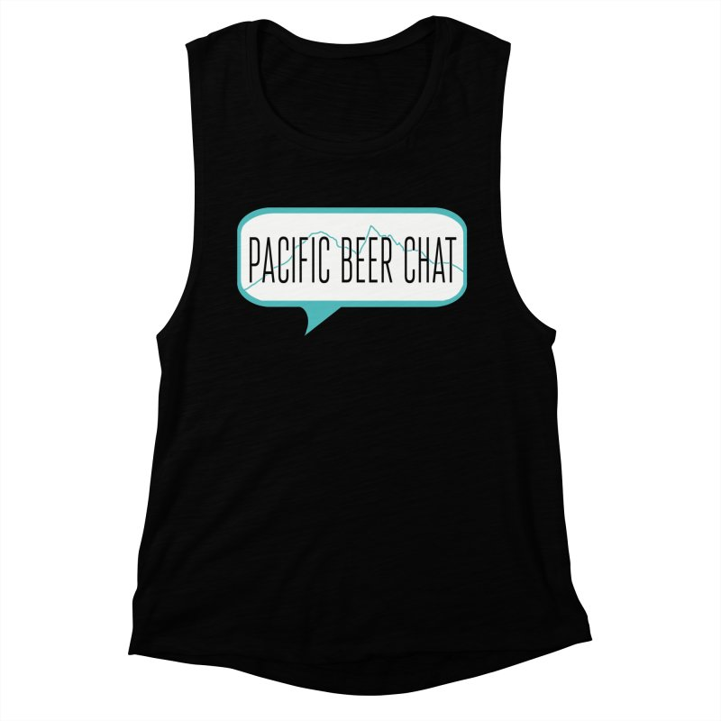 Alternative Logo Women's Muscle Tank by Pacific Beer Chat Shop
