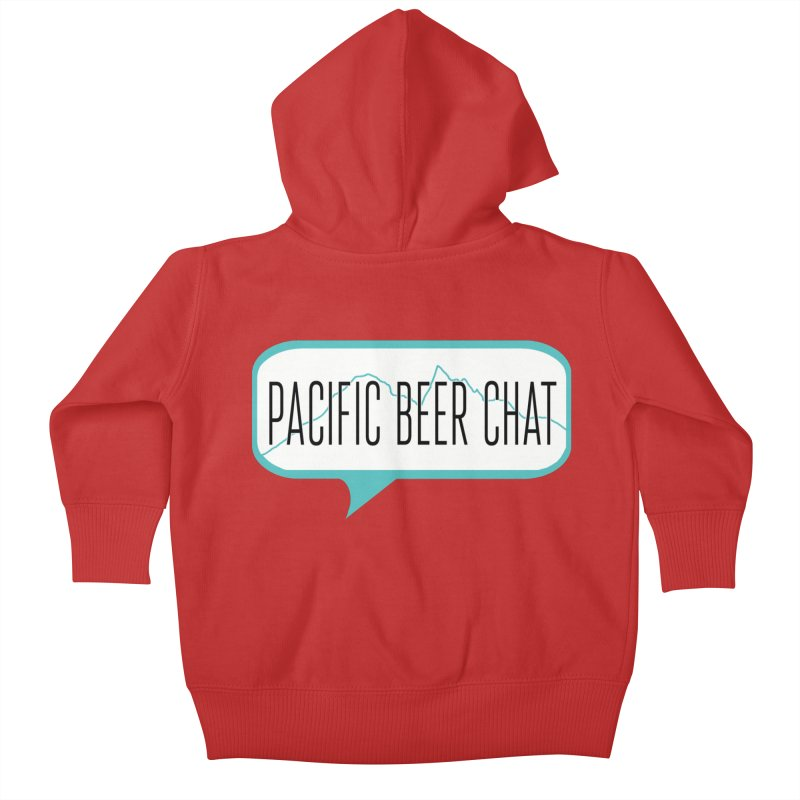 Alternative Logo Kids Baby Zip-Up Hoody by Pacific Beer Chat Shop