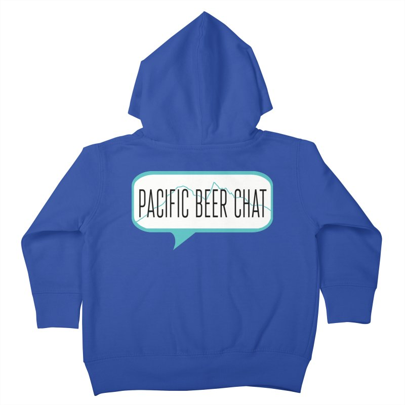 Alternative Logo Kids Toddler Zip-Up Hoody by Pacific Beer Chat Shop