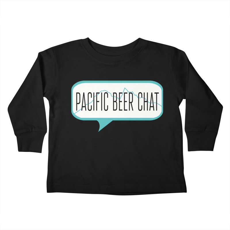 Alternative Logo Kids Toddler Longsleeve T-Shirt by Pacific Beer Chat Shop