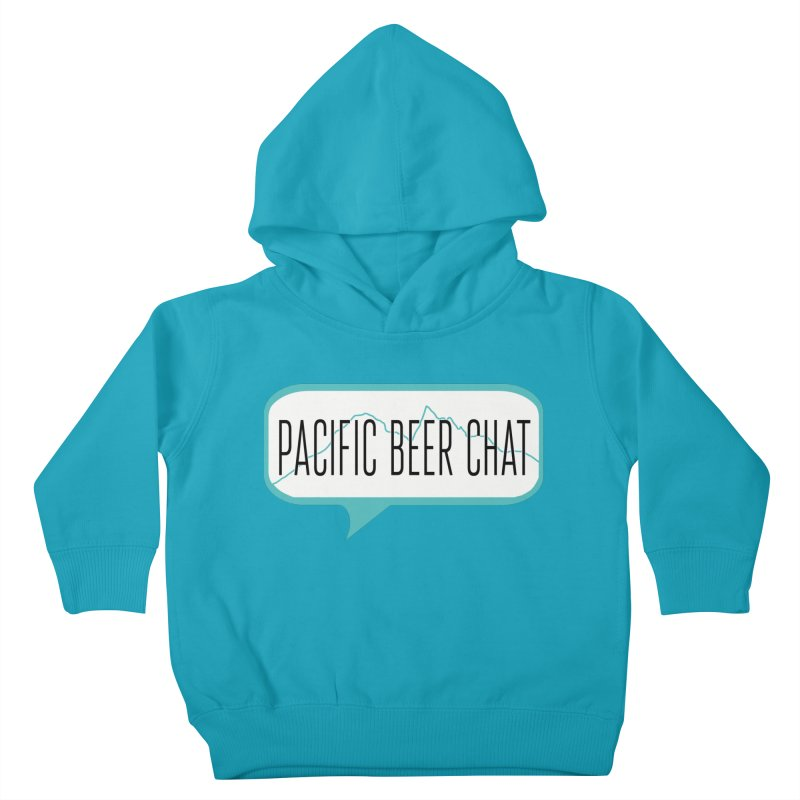 Alternative Logo Kids Toddler Pullover Hoody by Pacific Beer Chat Shop