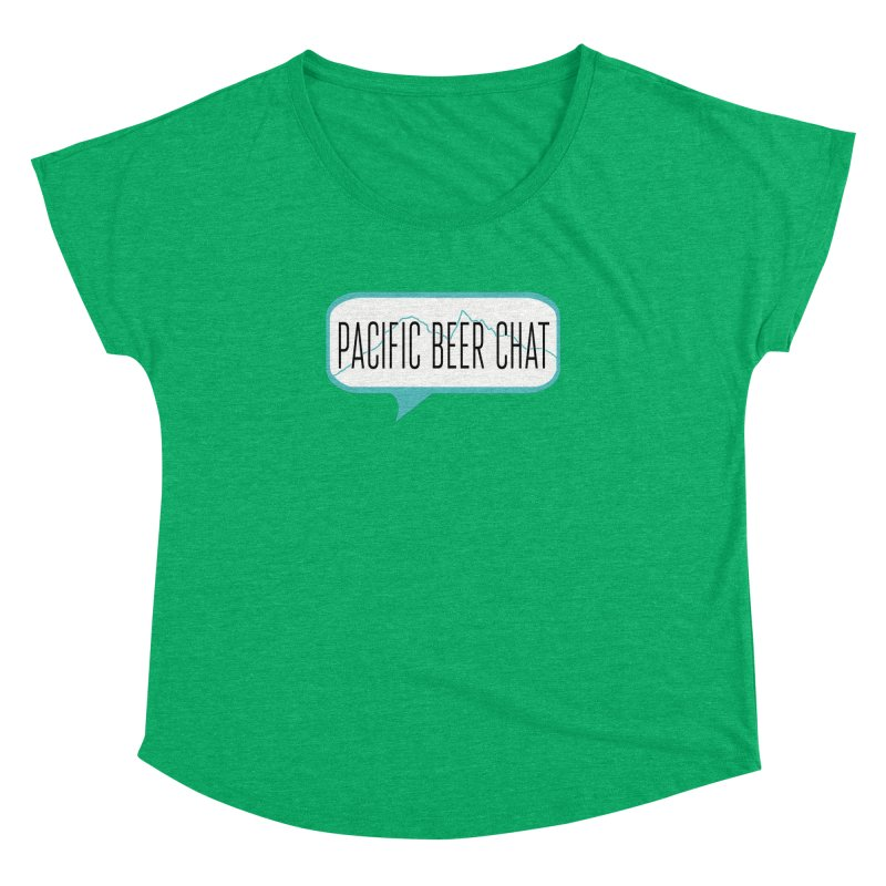 Alternative Logo Women's Dolman Scoop Neck by Pacific Beer Chat Shop