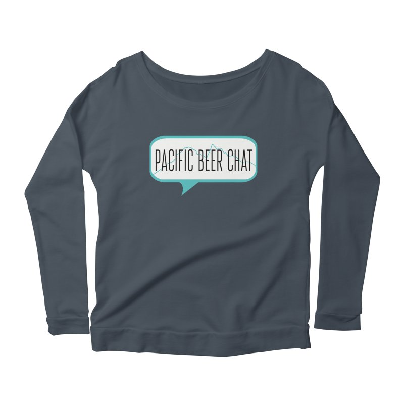 Alternative Logo Women's Scoop Neck Longsleeve T-Shirt by Pacific Beer Chat Shop