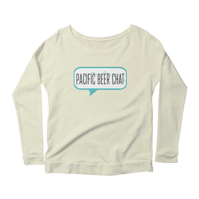Alternative Logo Women's Scoop Neck Longsleeve T-Shirt by Pacific Beer Chat Shop