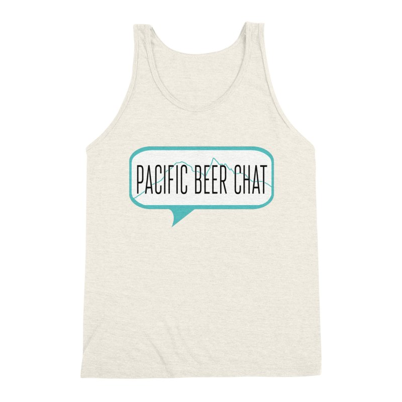 Alternative Logo Men's Triblend Tank by Pacific Beer Chat Shop