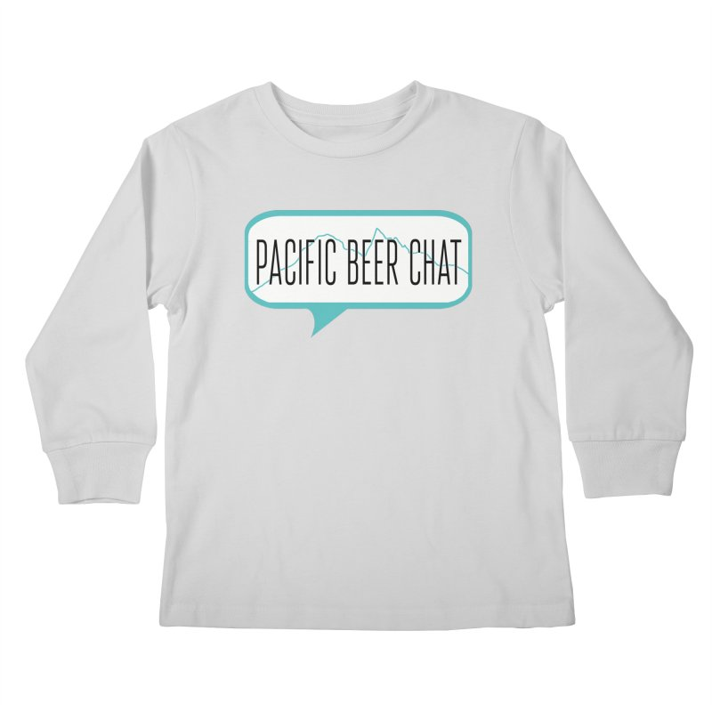 Alternative Logo Kids Longsleeve T-Shirt by Pacific Beer Chat Shop