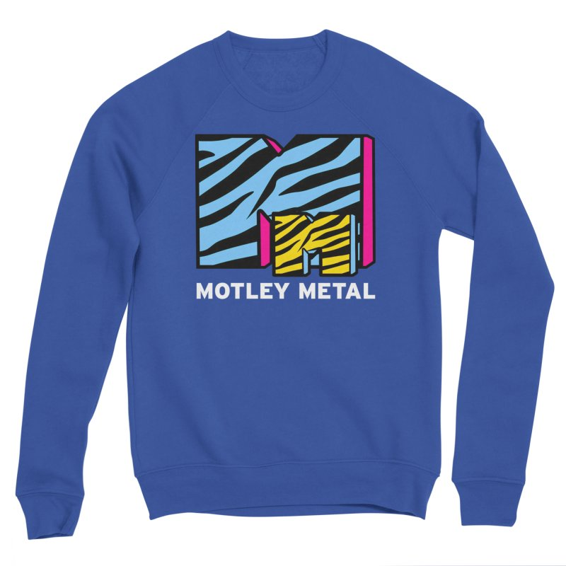 Motley Metal Alternate Men's Sweatshirt by PainTrainPipebomb