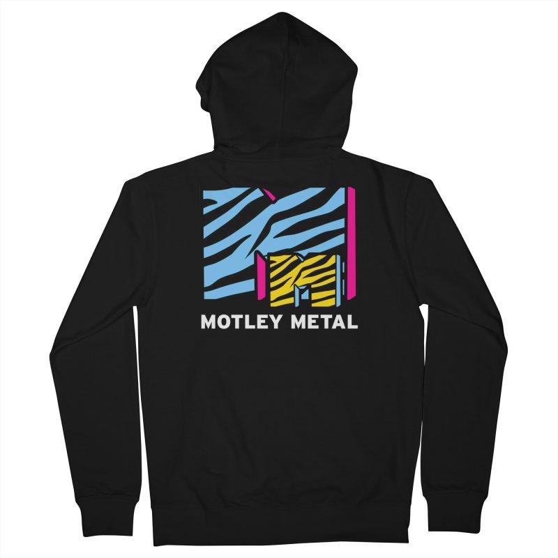 Motley Metal Alternate Women's Zip-Up Hoody by PainTrainPipebomb