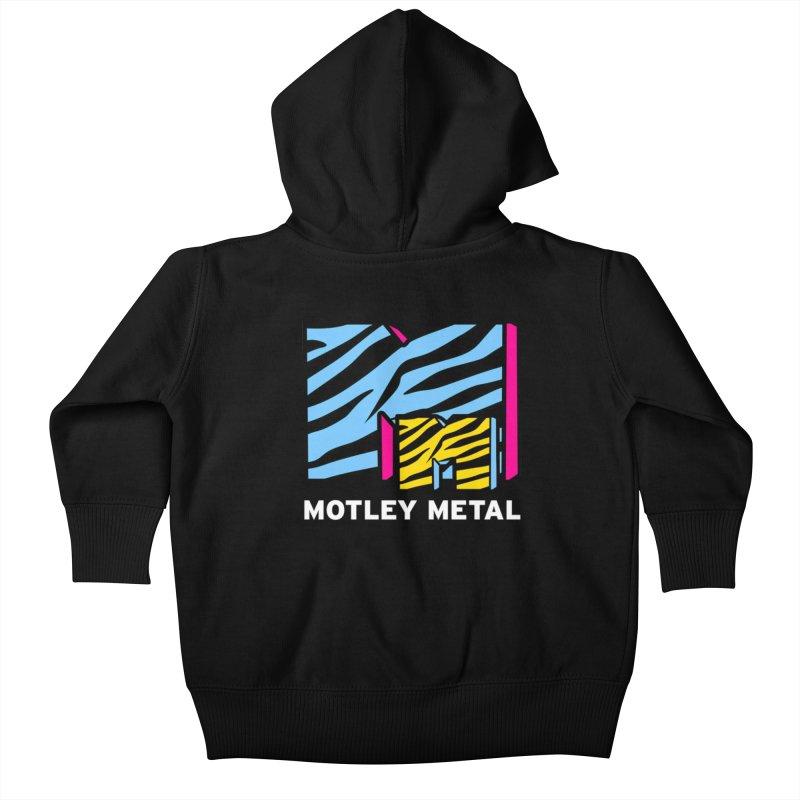 Motley Metal Alternate Kids Baby Zip-Up Hoody by PainTrainPipebomb