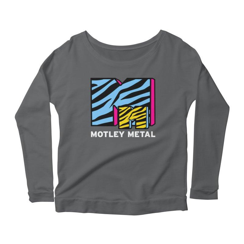 Motley Metal Alternate Women's Longsleeve T-Shirt by PainTrainPipebomb