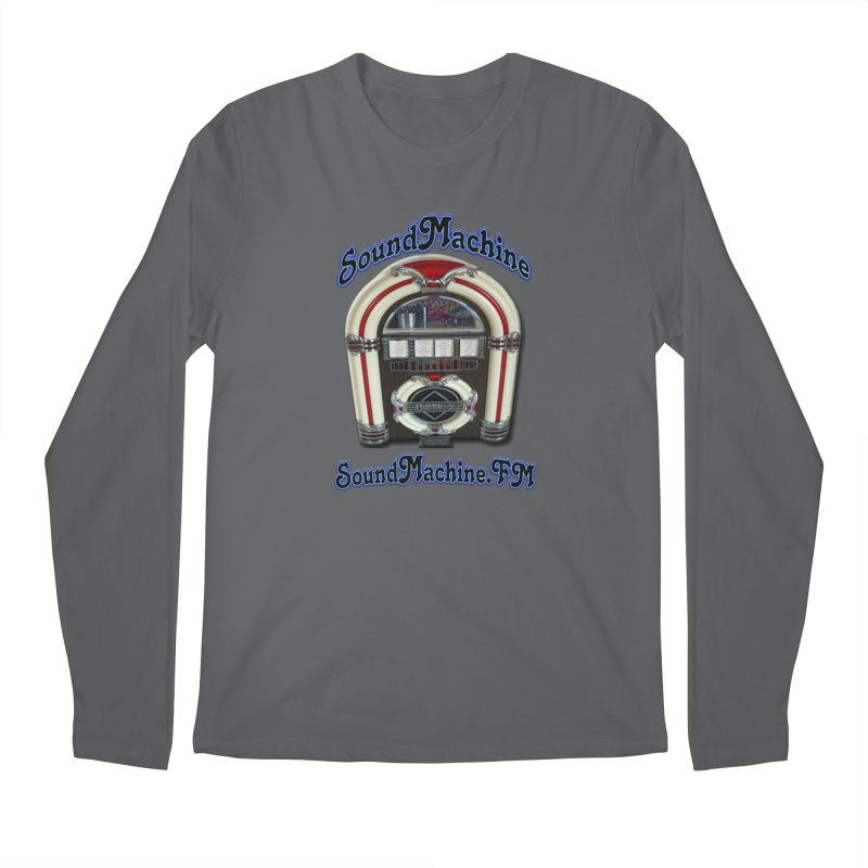 SoundMachine FM Men's Longsleeve T-Shirt by PainTrainPipebomb