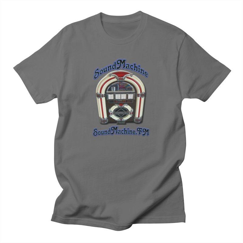 SoundMachine FM Men's T-Shirt by PainTrainPipebomb