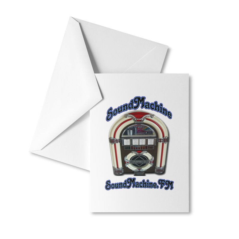 SoundMachine FM Accessories Greeting Card by PainTrainPipebomb